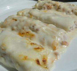 canelones-pollo-salsa-brocoli