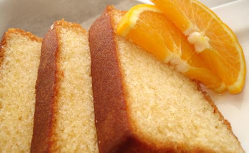 Budìn de naranja y miel